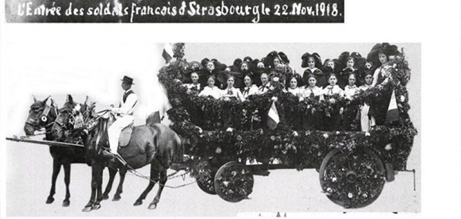 Illustration Alsace 1918 – Vies après la guerre