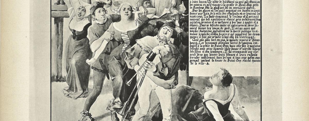 Illustration La fièvre de la danse
