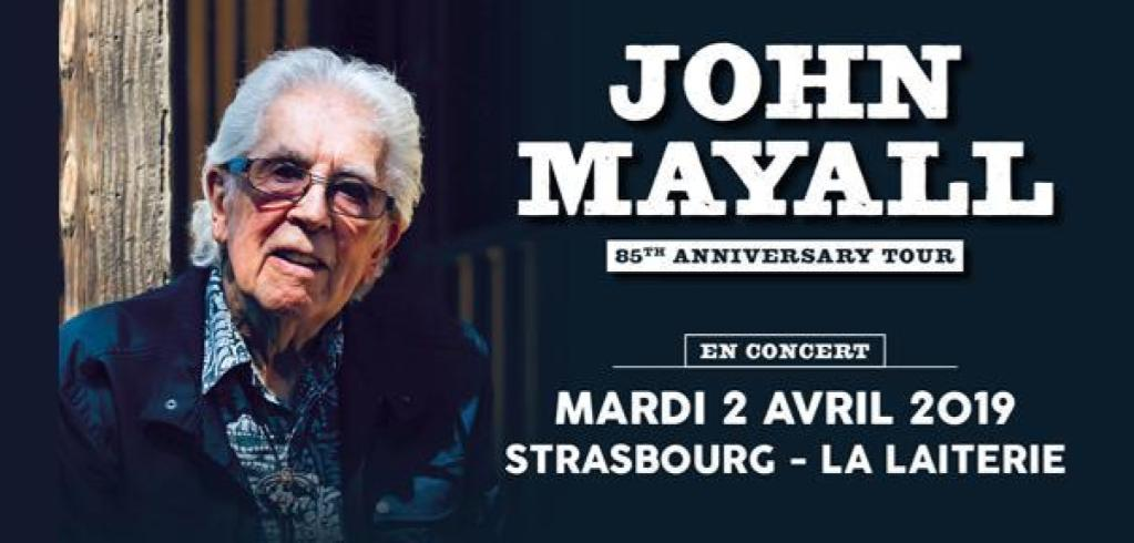 Illustration John Mayall «85th Anniversary Tour»